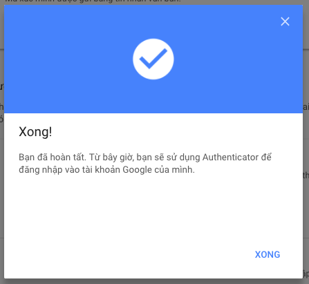 bao mat bang ung dung google authenticator