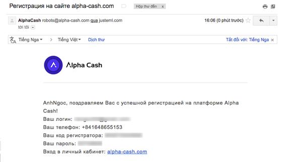 dang ky tai khoan alpha cash