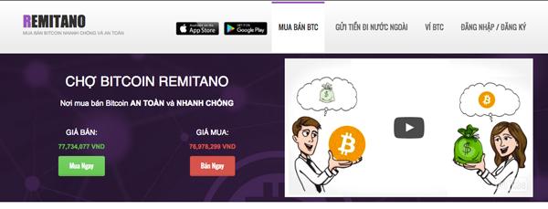 huong dan mua ban bitcoin tren remitano