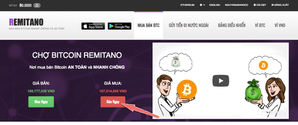ban bitcoin tren remitano