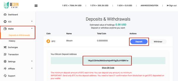 hướng dẫn mua ucoin cash