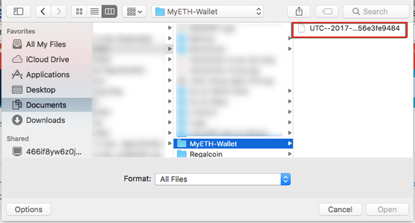cach lay file keystore tao dia chi vi myetherwallet