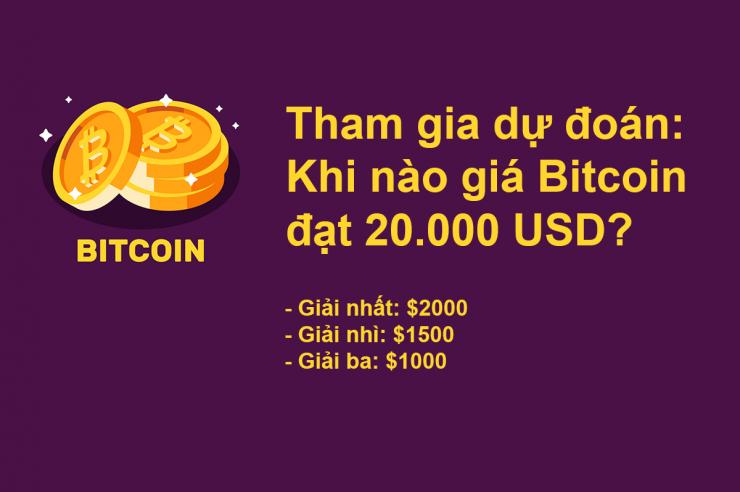 hướng dẫn tham gia dự đoán giá bitcoin